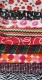 Nylonbezug mit Muster zum XL Kissen 60 x  20 cm
