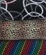 Nylonbezug mit  Muster zum XXL Kissen 60 x  30 cm